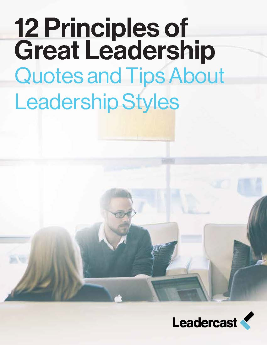 theories and principles of leadership and management Over time, a number of different theories of leadership have evolved.
