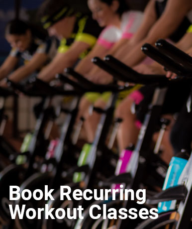 Book Recurring Workout Classes