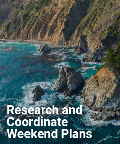Research and Coordinate Weekend Plans