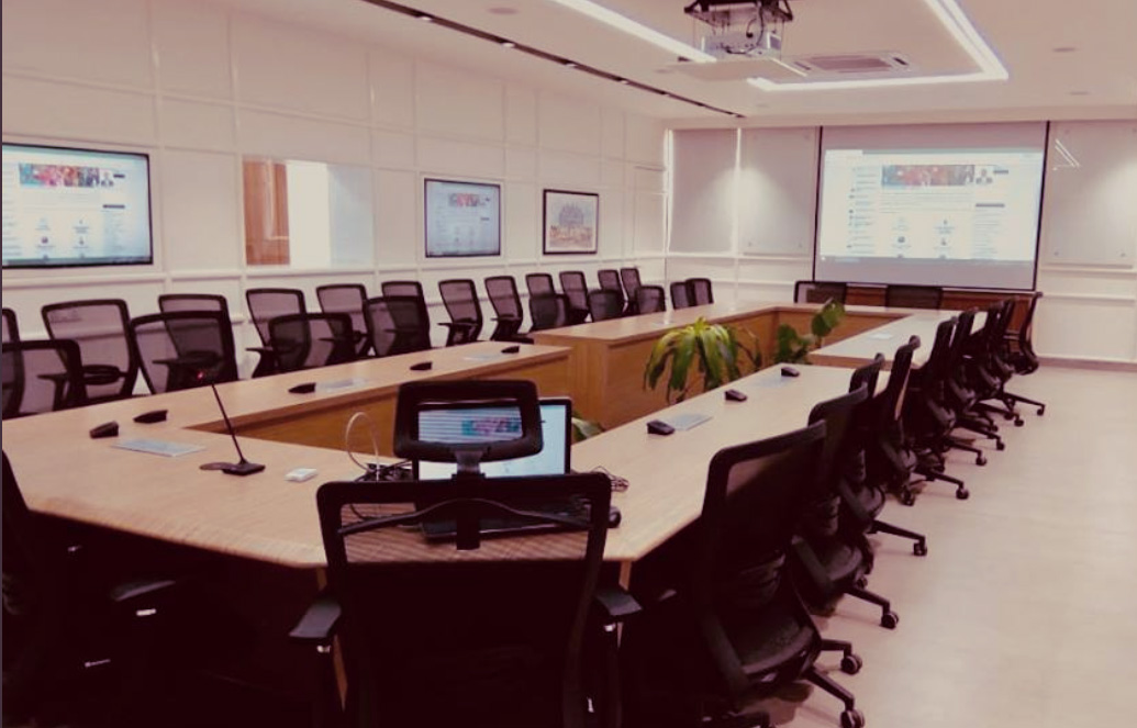 Large Conference Room Or Boardroom